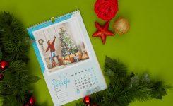 Идеальный подарок на Новый год? Календарь с фото!