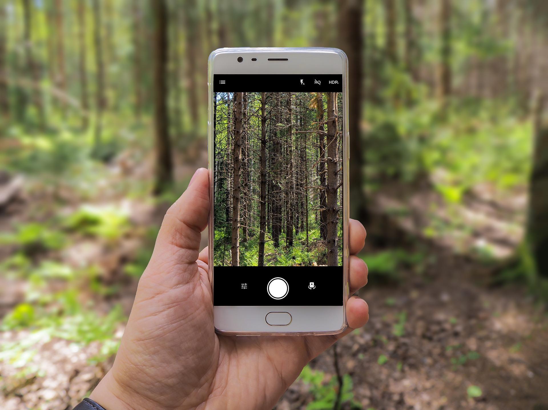 Сделать красивые фото на телефон