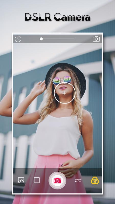 Приложение DSLR Camera Blur Background