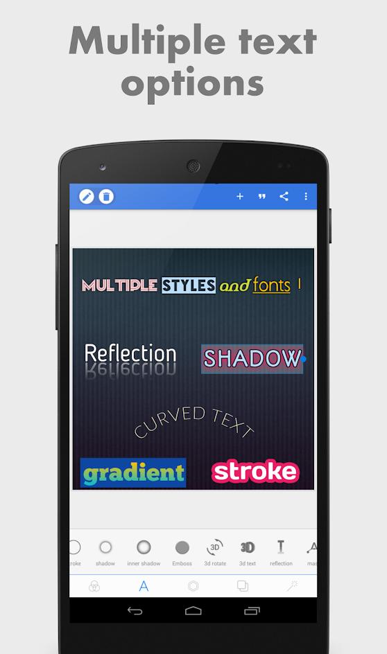 Выбор стиля в PixelLab