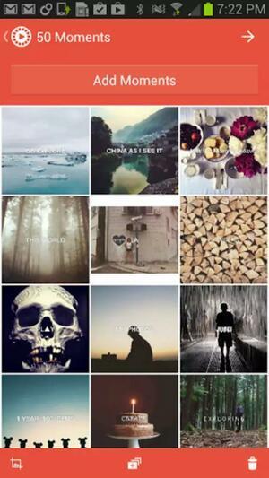 Фотографии для клипа в Flipgram