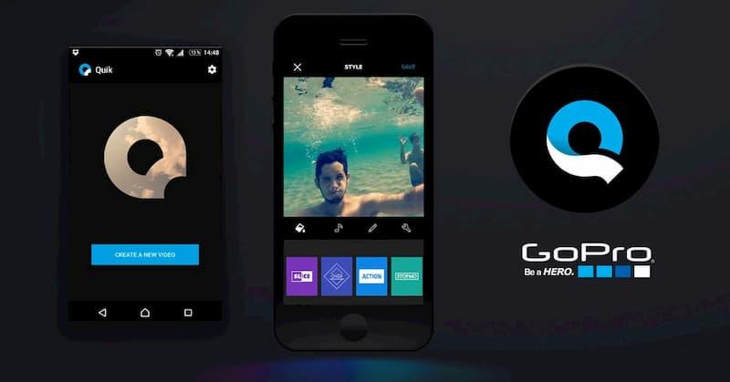 Сделать фильм из фото на телефоне в GoPro Quik