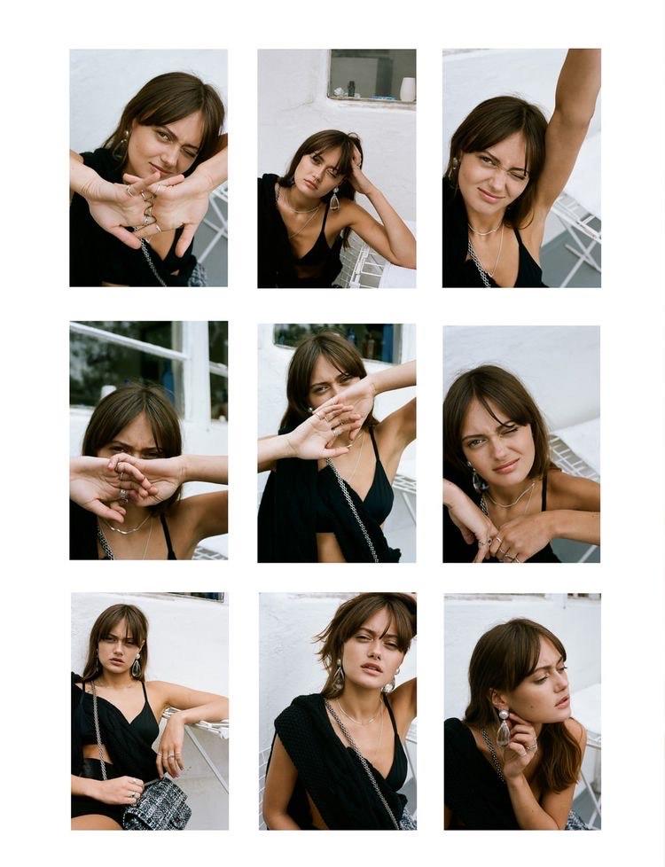Варианты положения рук во время проведения фотосессии
